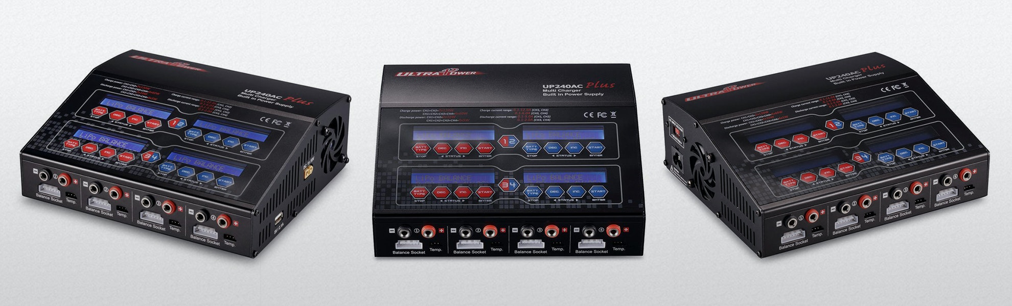 Ultra Power 240AC Plus Quad Port Multi-Charger