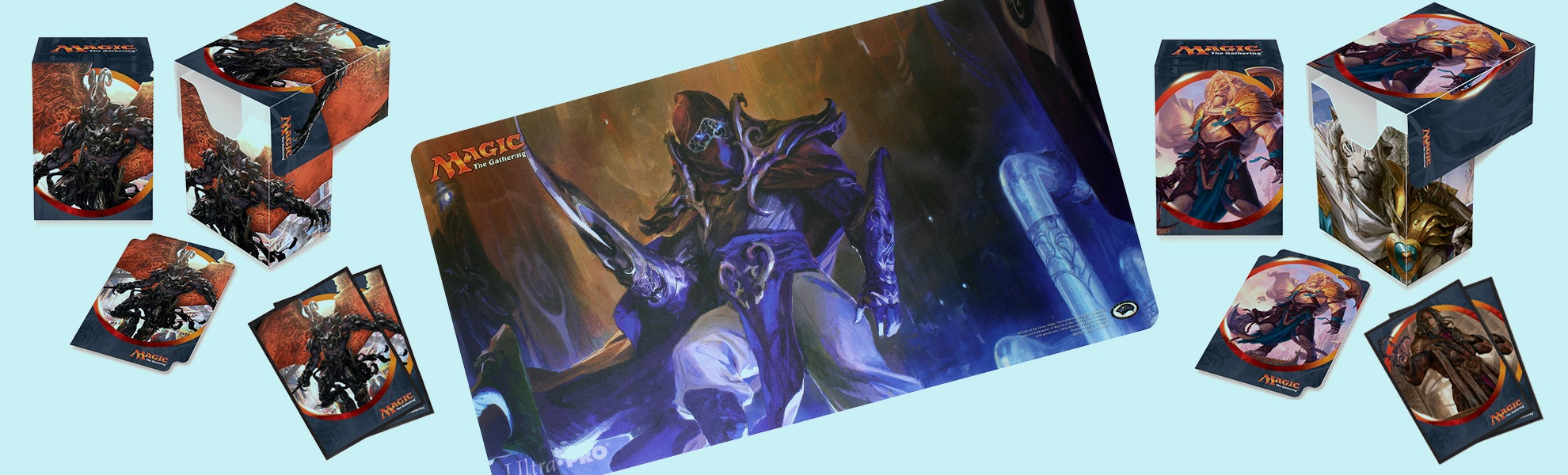 Ultra Pro Aether Revolt Sleeves, Boxes & Playmat