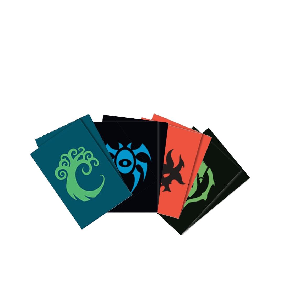 10 MINT Cult of Rakdos Ultra Pro MtG Sleeves Guilds of Ravnica Card Sleeves