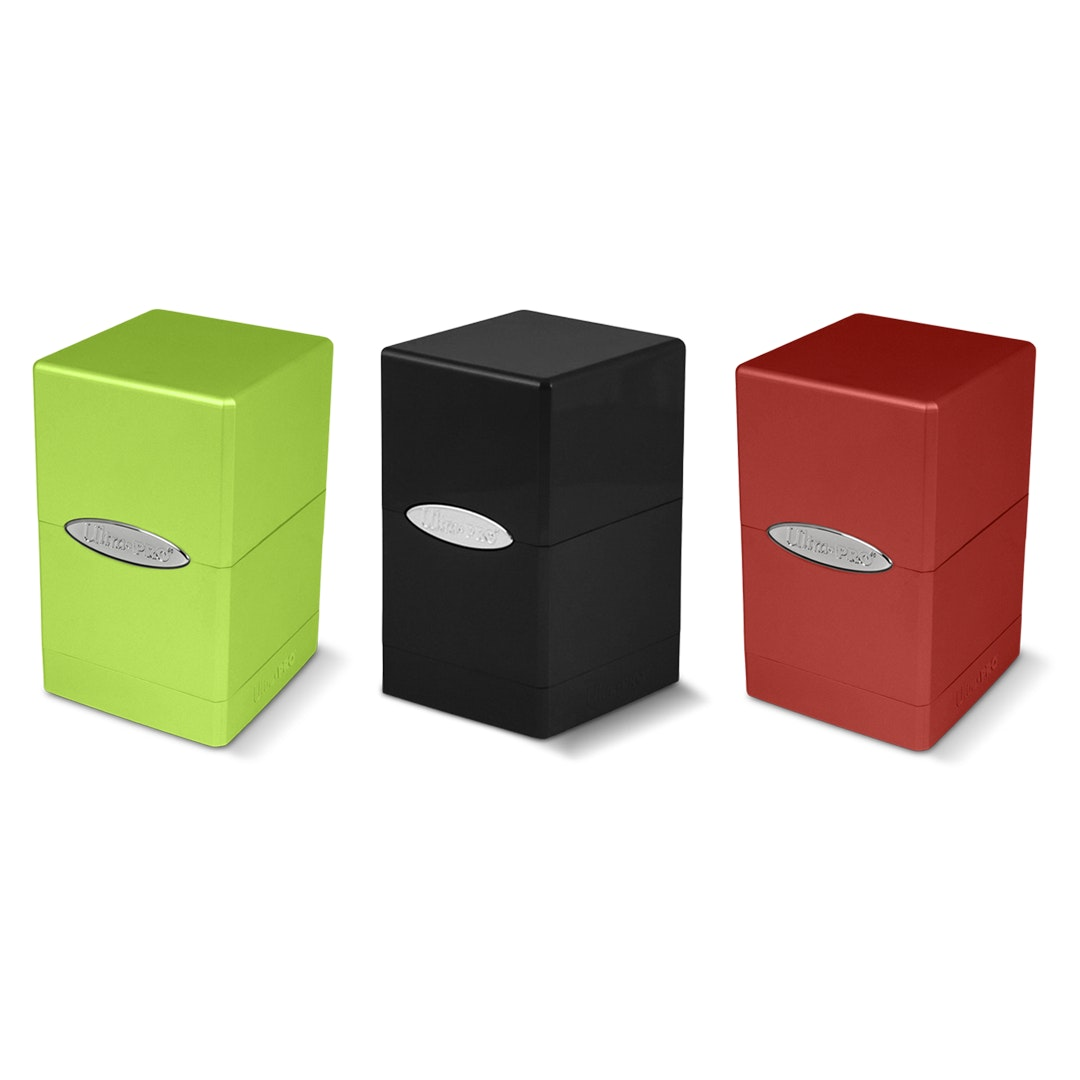 Ultra Pro Satin Tower Deck Box (3-Pack)