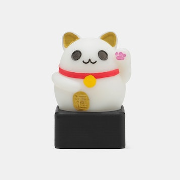 UniqueKeycaps Lucky Cat Artisan Keycap