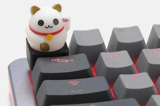 UniqueKeycaps Lucky Cat Artisan Keycap