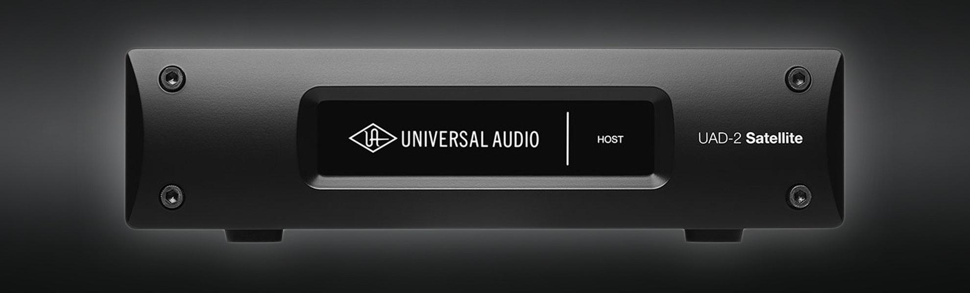 Universal Audio UAD-2 Satellite Thunderbolt
