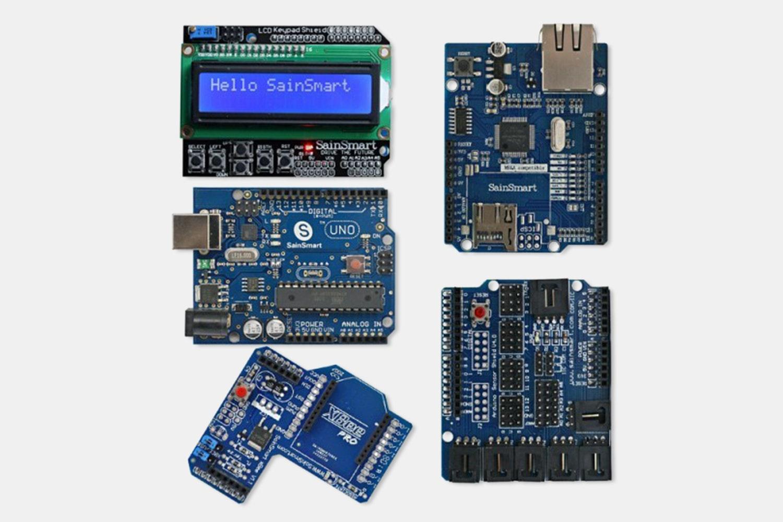 UNO + LCD Keypad Shield Bundle for Arduino