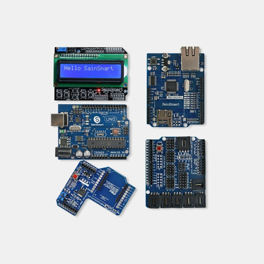 UNO + LCD Keypad Shield Bundle for Arduino