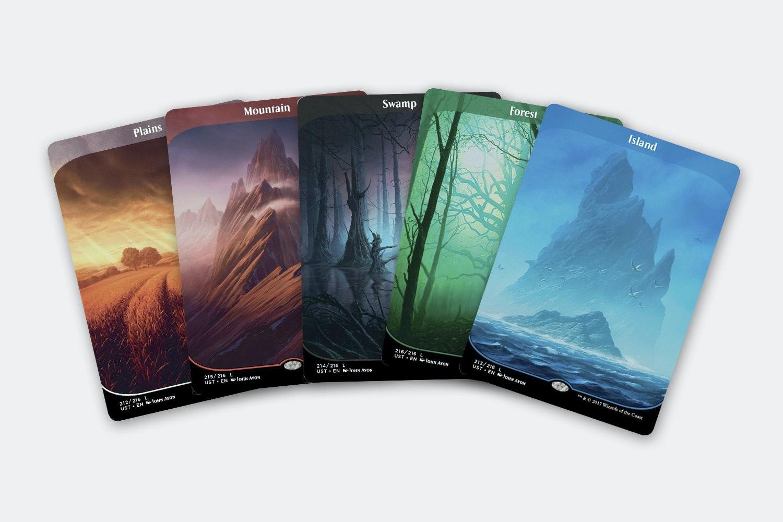 Unstable Full-Art Borderless Land Cards (10-Pack)