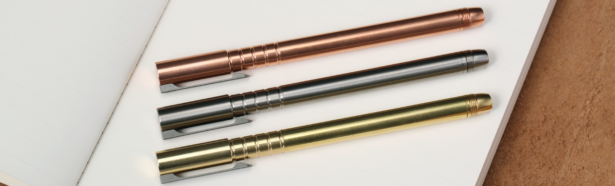 Urban Survival Gear TiScribe Machined Pens