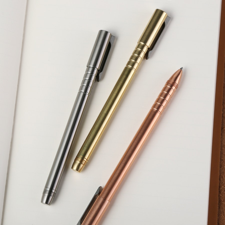Urban Survival Gear TiScribe Machined Pens