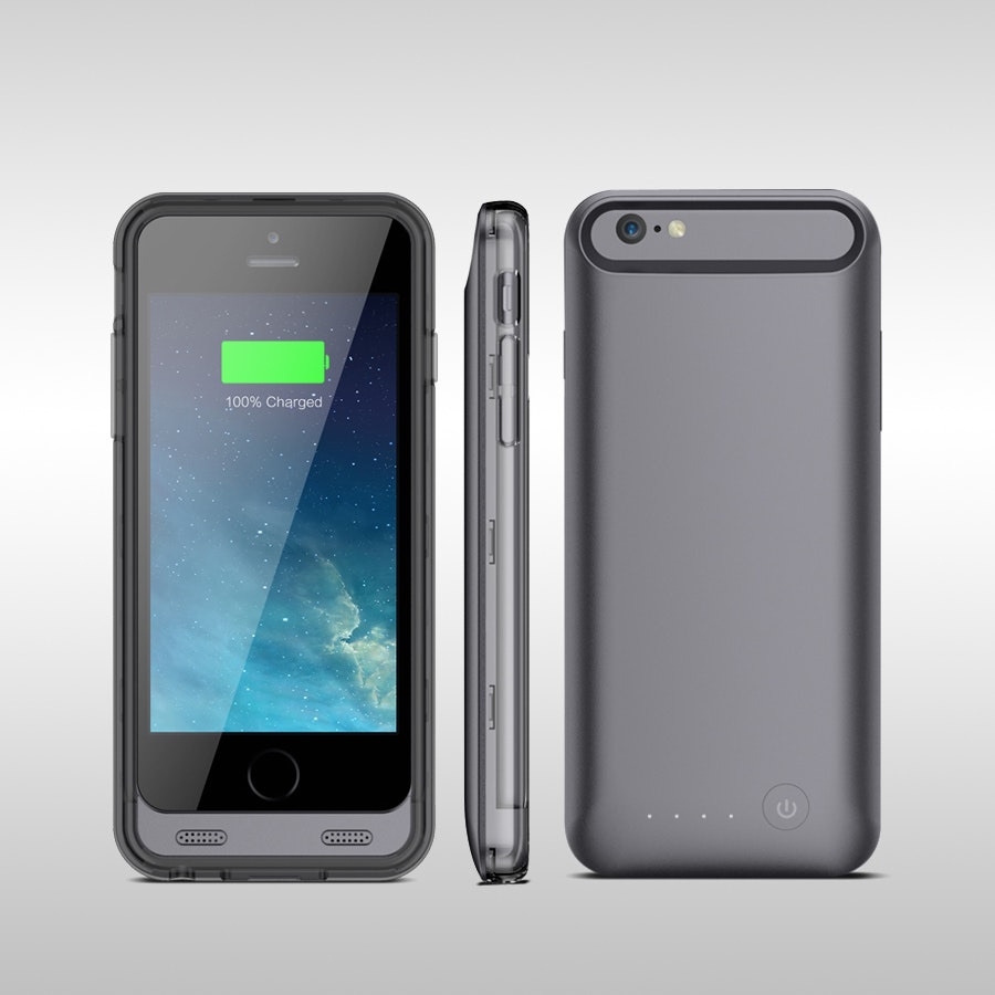 URGE 2400mAh Battery Case for iPhone 6/6s