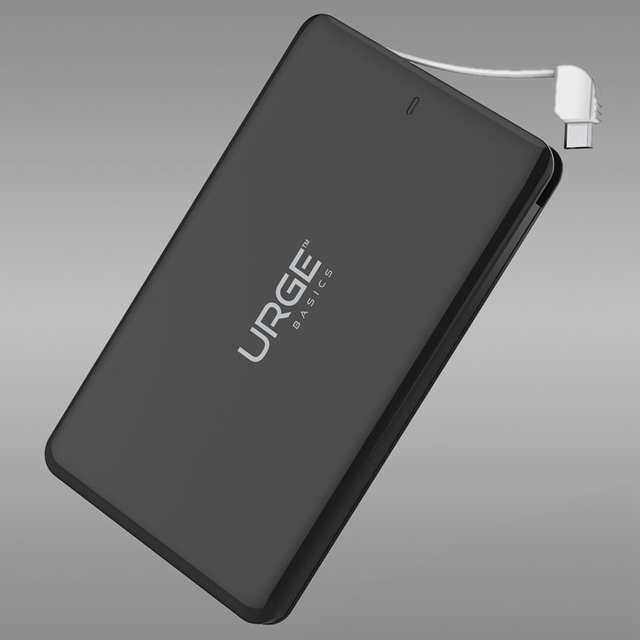 Urge Ultra Slim 4,000-mAh Powerbank w/Micro USB
