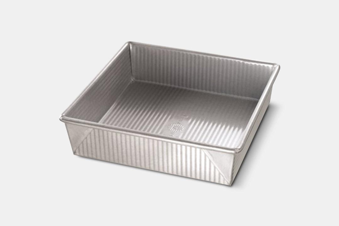 USA Pan Metal Bakeware w/ Lid