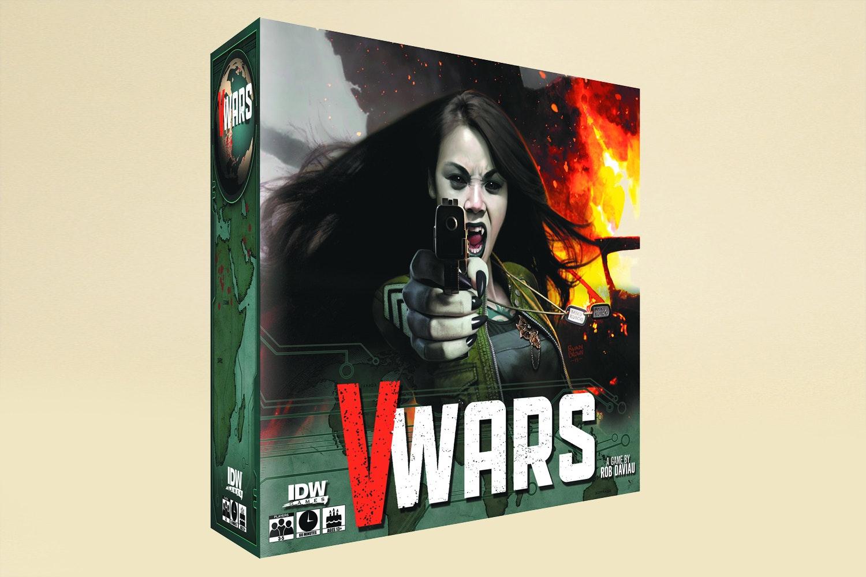 V-Wars: Blood & Fire Board Game