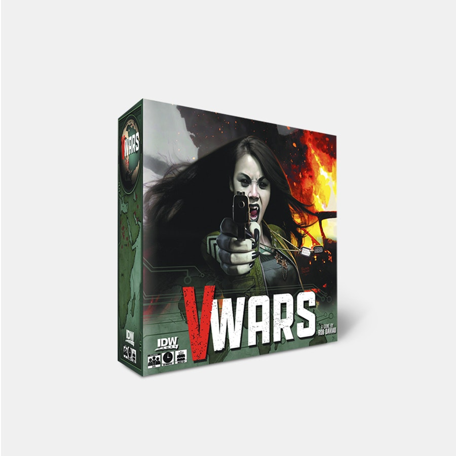 V-Wars: Blood & Fire Board Game