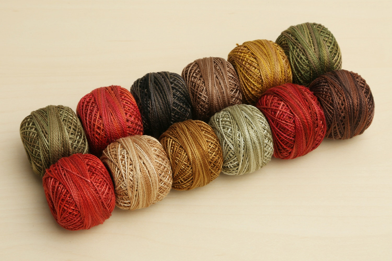 Valdani Pearl Cotton Collections