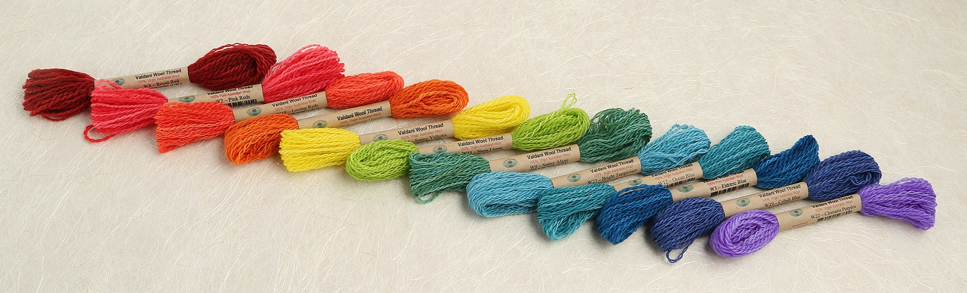 Valdani Wool Thread Collection
