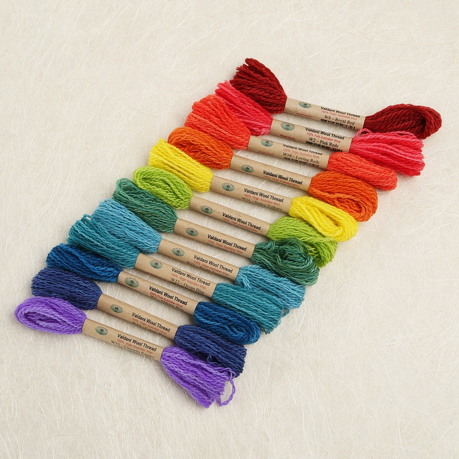 Valdani Wool Thread Collection
