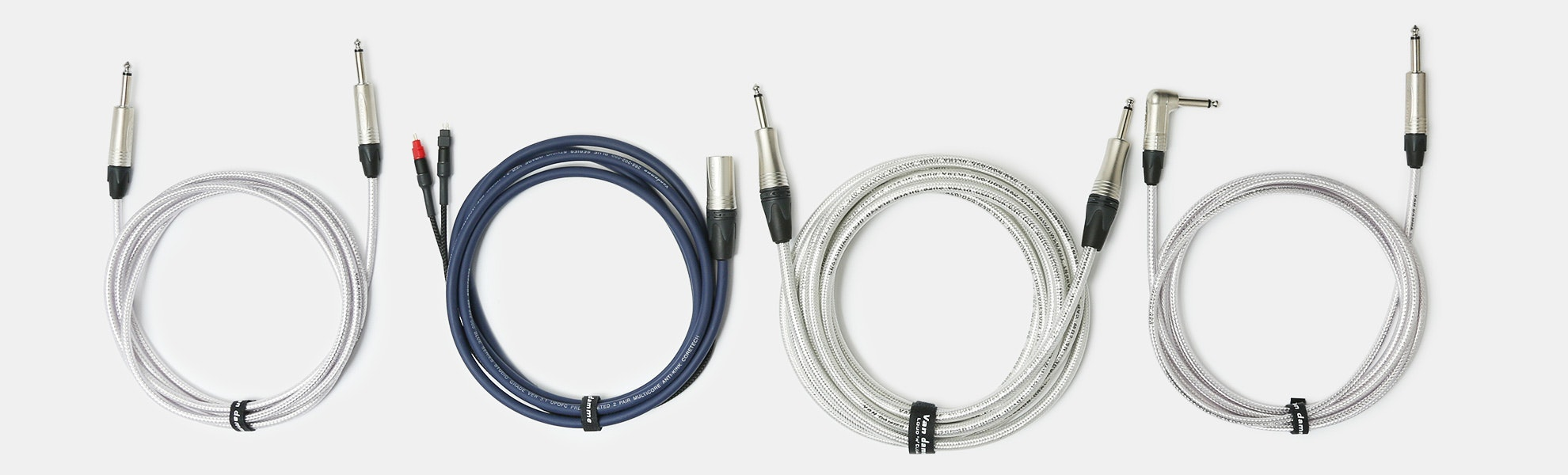 Van Damme Audio Instrument & HD 6XX Cables
