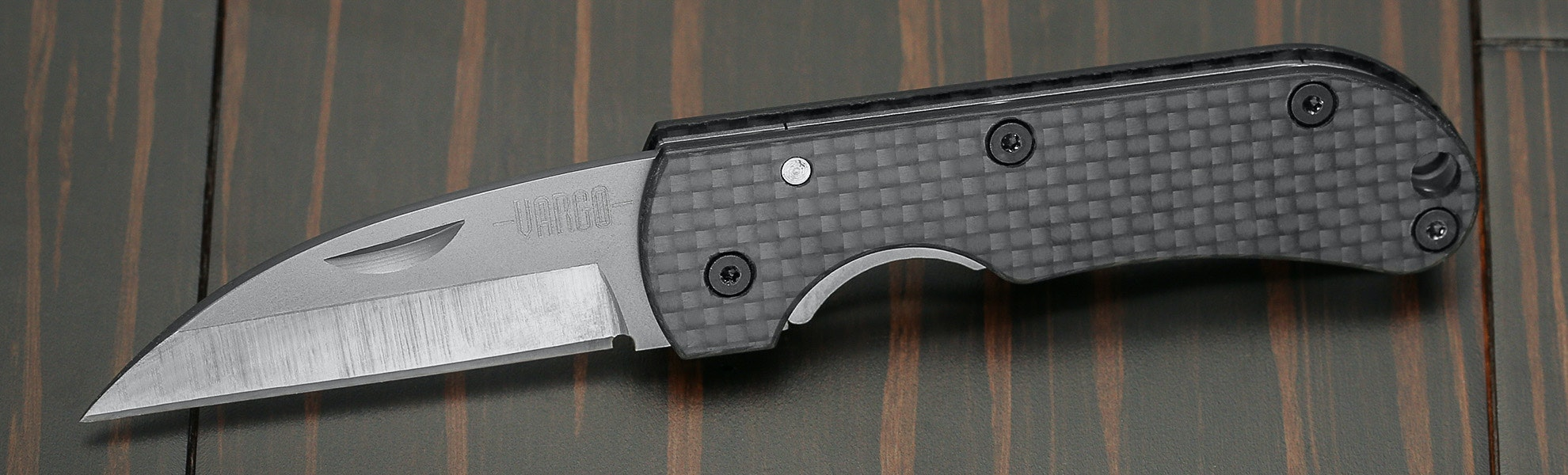 Vargo Ti-Carbon Folding Knife