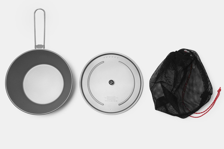 Vargo Titanium Sierra 750 Ultralight Pot/Bowl Combo