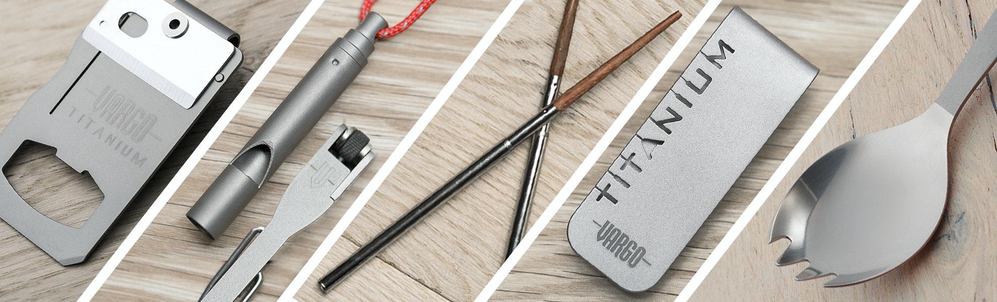 Vargo Titanium Tool 3-Pack