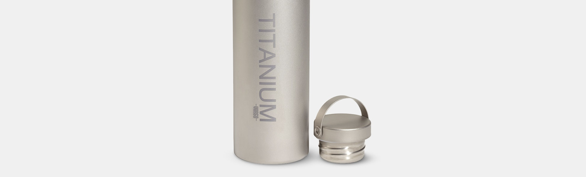 Vargo Titanium Water Bottle