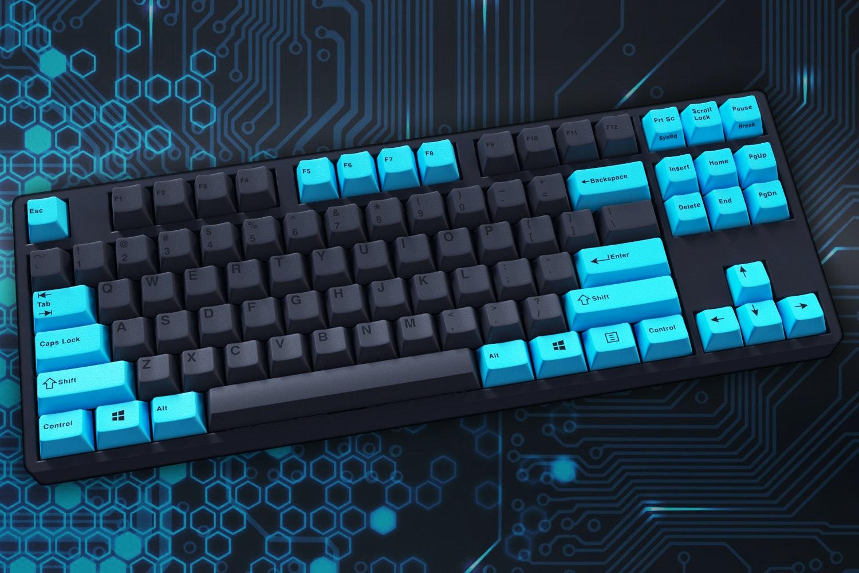 Varmilo Custom Cyan Keycap Set