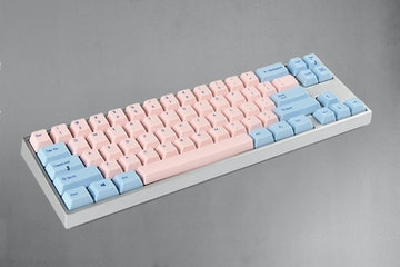Cotton Candy (Silver case, Ice Blue LEDs)