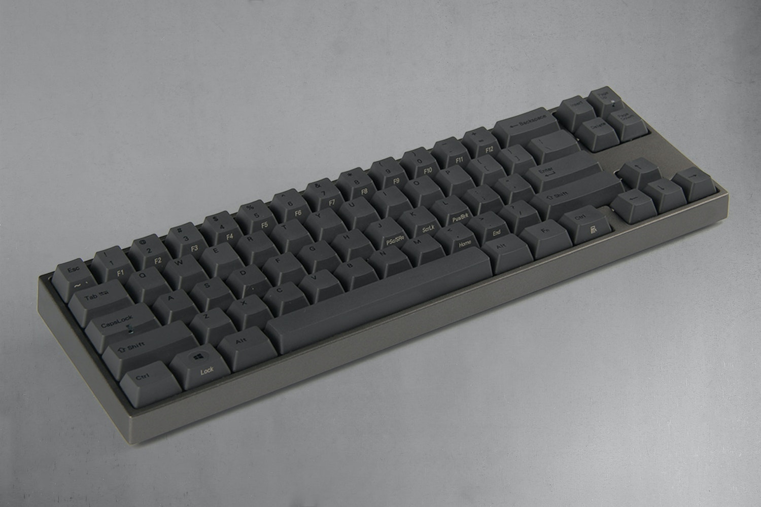 Charcoal Gray (Space Gray case, Red LEDs)