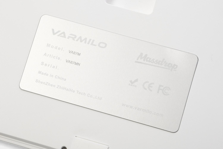 Varmilo VA87M  - Massdrop Exclusive