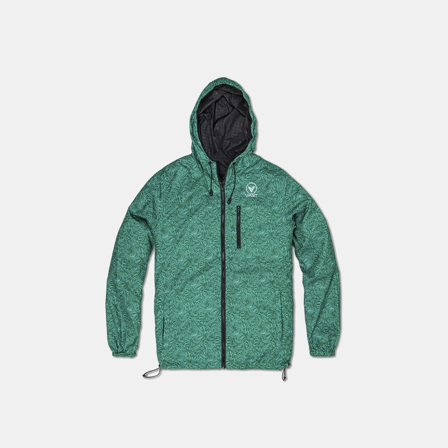 VAST Nature's Touch Reversible Windbreaker