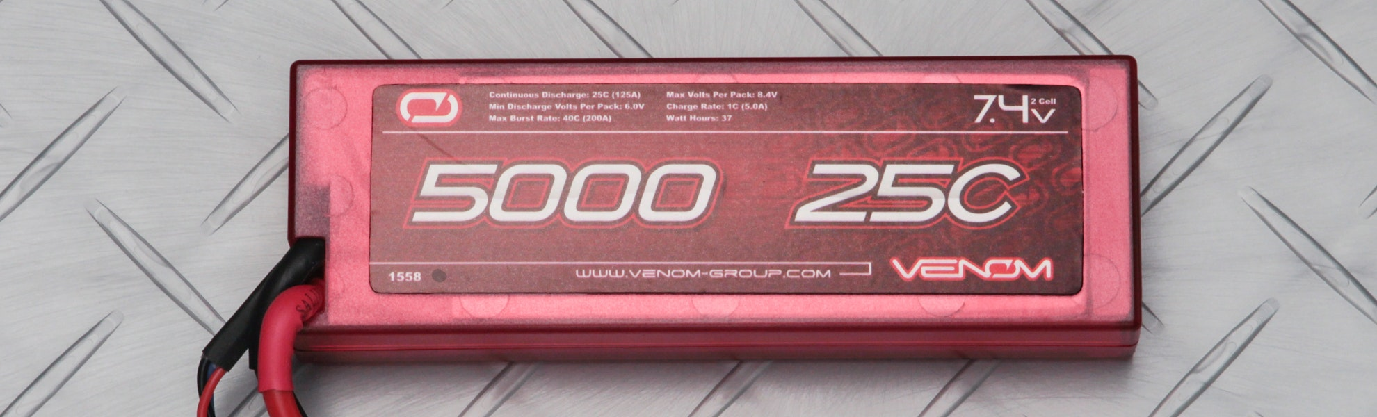 Venom Lipo 2S/3S 5000mAh Universal