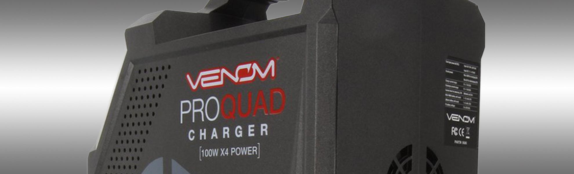 Venom Pro Quad 100W 4-Port AC/DC Charger Pre-Order