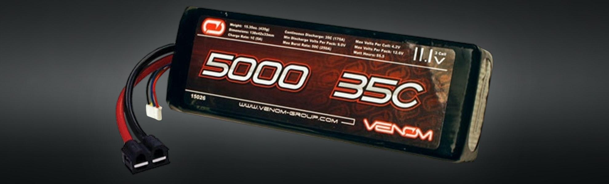 Venom Sport Lipo 2S/3S 5000mAh Universal