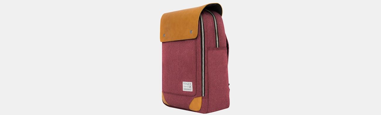 fd8332055fcc Venque Bags Flat Mini Backpack