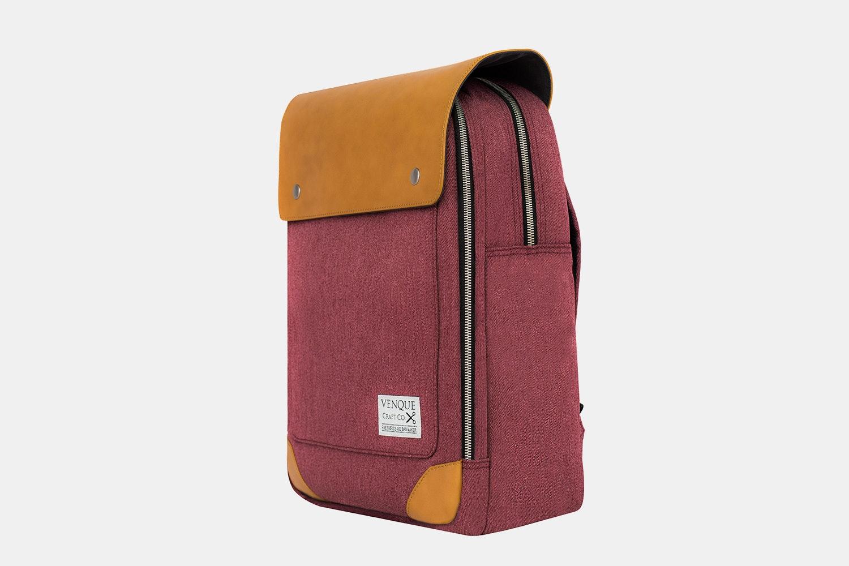 Venque Bags Flat Mini Backpack