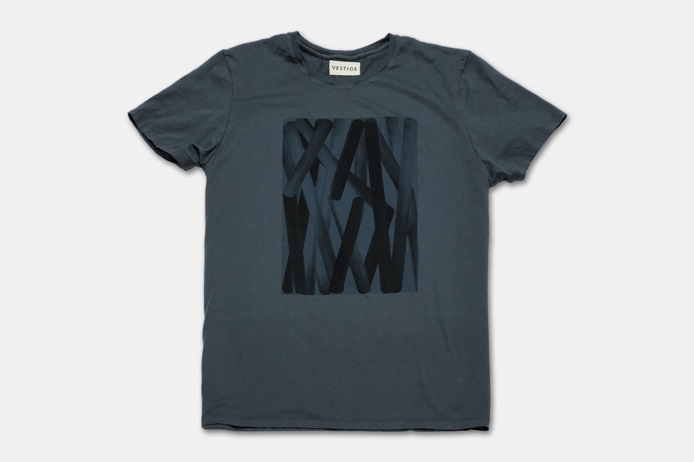Color Abstraction - Dark Gray