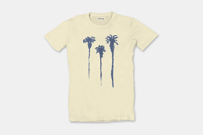 Tres Palm Yellow - Light Yellow