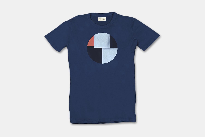 Geo Circle Redux - Blue