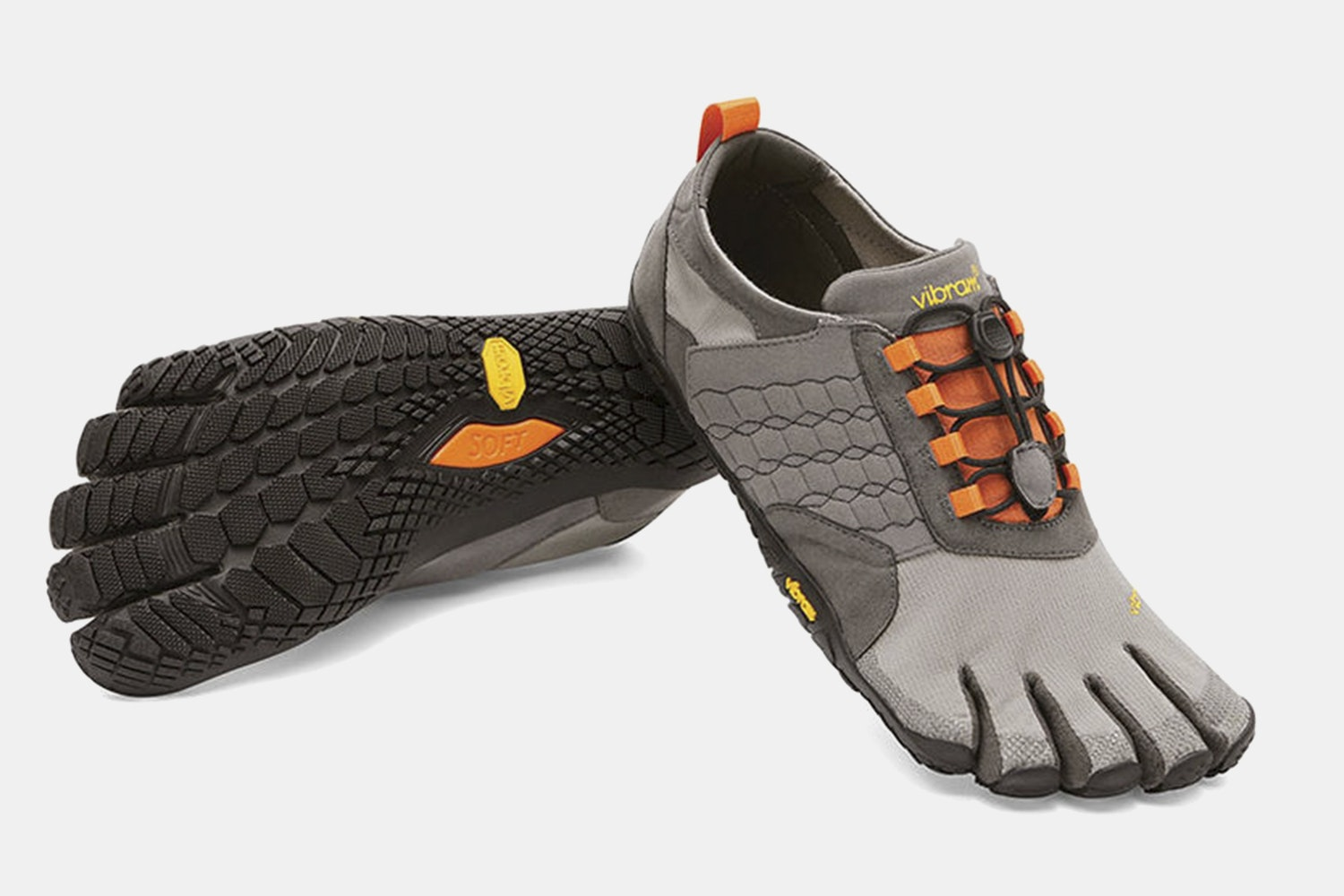 Men's – Gray/Black/Orange