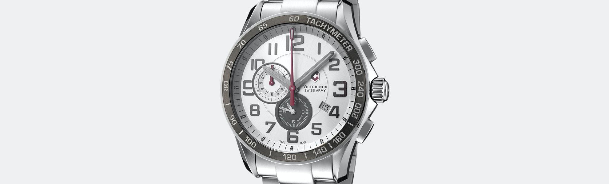 Victorinox Chrono Classic XLS Alarm Quartz Watch