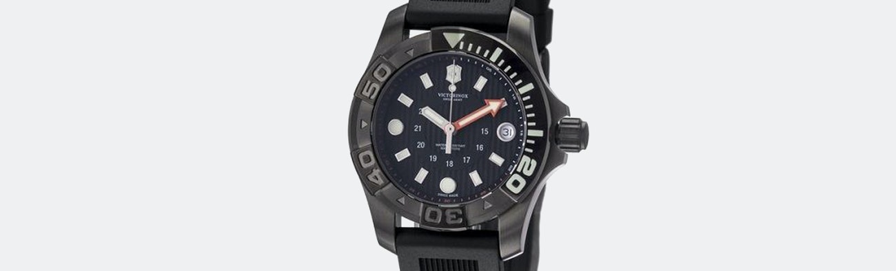 divemaster watches dive master mechanical watch victorinox ice black olfert co