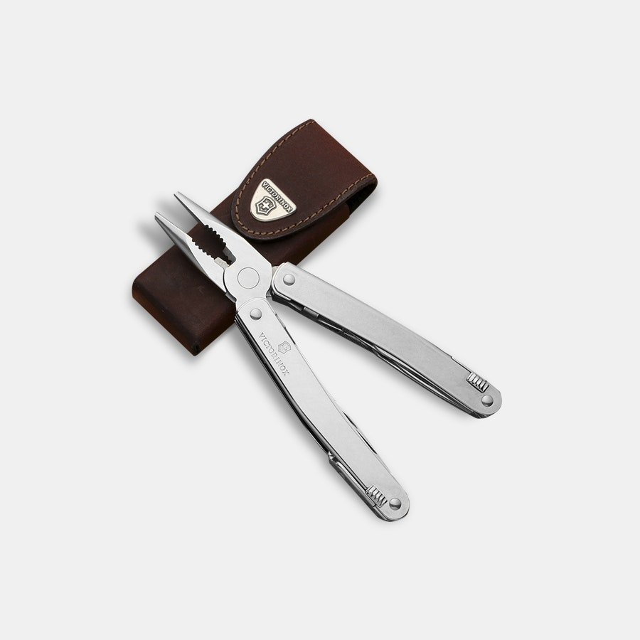 Victorinox SwissTool Spirit w/Leather Pouch