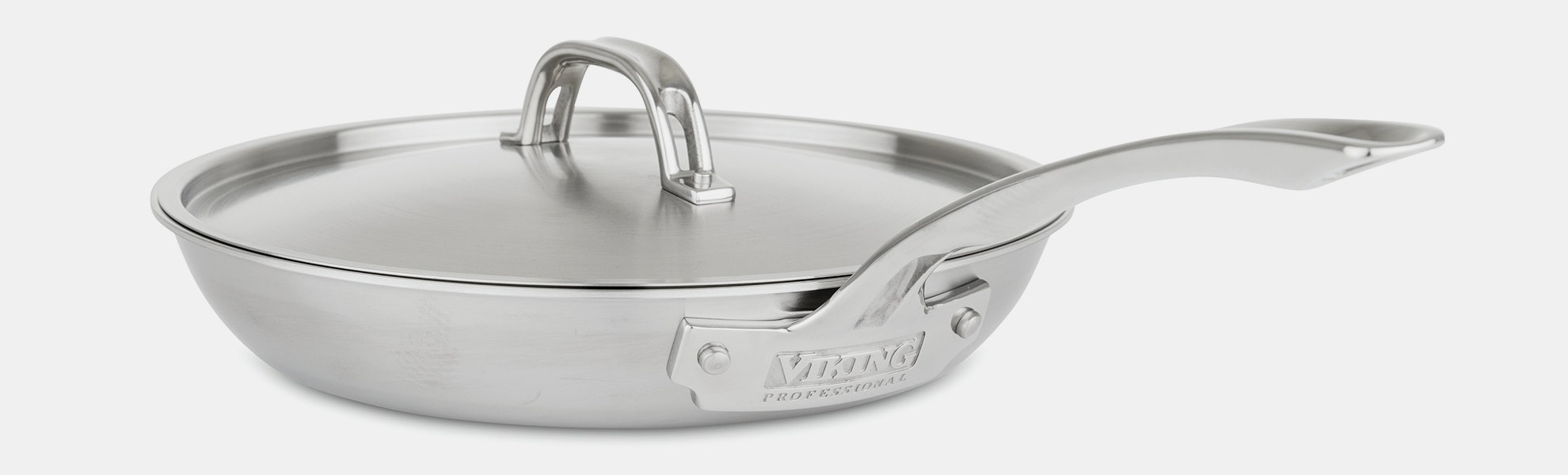 Viking 5-Ply Nonstick Covered Fry Pans