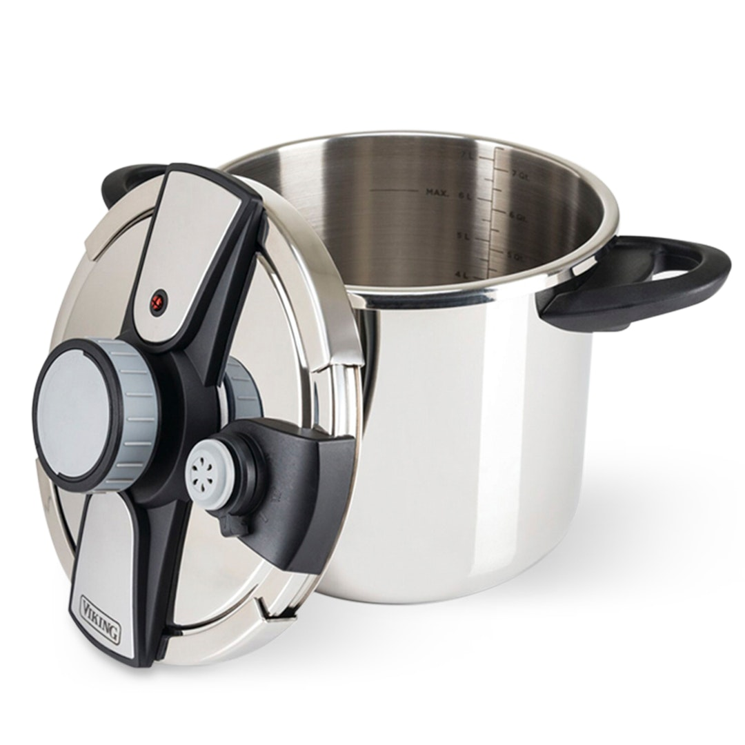 Viking Easy-Lock Pressure Cooker w/ Steamer