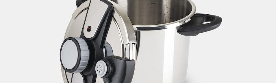 Viking Easy Lock Pressure Cooker W Steamer Price Reviews - Viking coffee maker