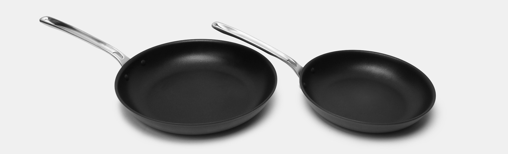 Viking Hard-Anodized 2-Piece Fry Pan Set