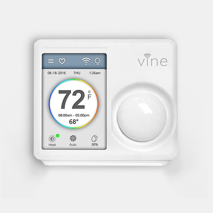 Vine Smart Wi-Fi Thermostat w/TouchScreen