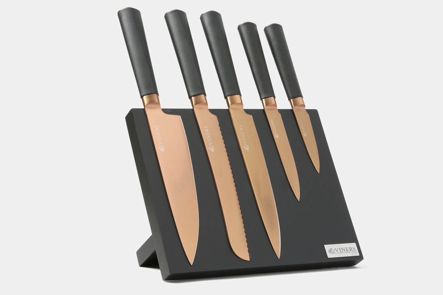 Viners Titan 5-Piece Knife Set With Magnetic Block