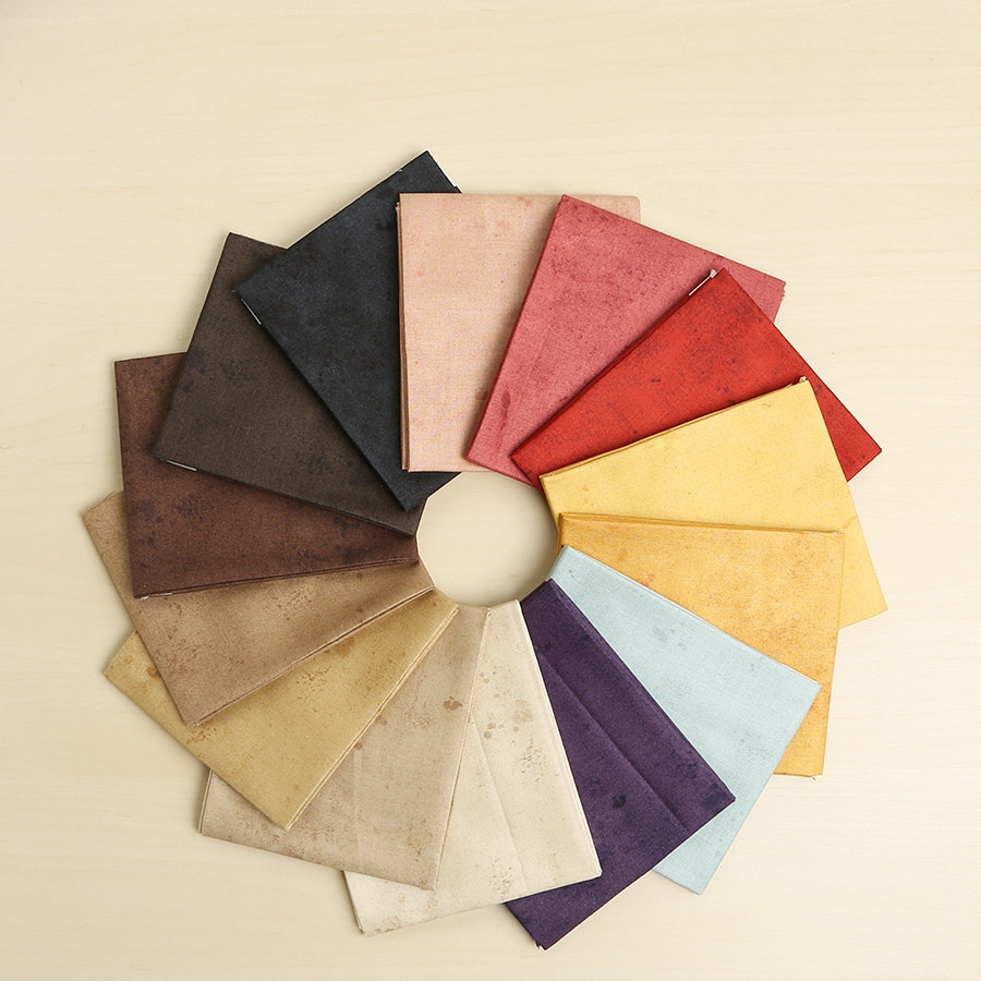 Vintage Solids Fat Quarter Bundle