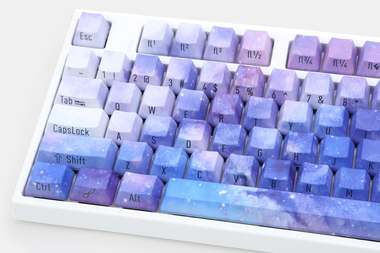 Violet Nights PBT Dye-Subbed Keycap Set
